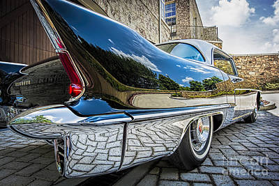 Photograph - 1957 Cadillac Eldorado by Ken Johnson