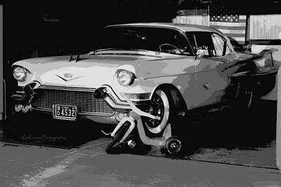 Toy Shop Photograph - 1957 Cadillac by Kip Krause