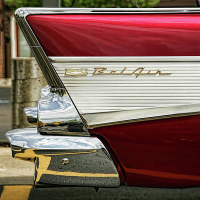 Photograph - 1957 Chevrolet Bel Air by Gordon Dean II