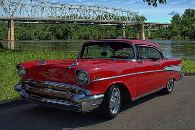 Photograph - 1957 Chevrolet Belair by Tim McCullough