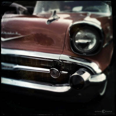 Photograph - 1957 Chevrolet Belair by Tim Nyberg