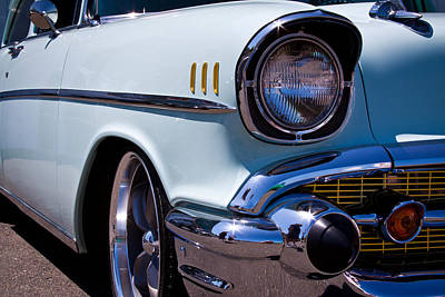 1957 Chevy Bel Air Custom Hot Rod Art Print by David Patterson