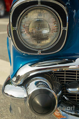 Photograph - 1957 Chevy Model 210 by Mark Dodd