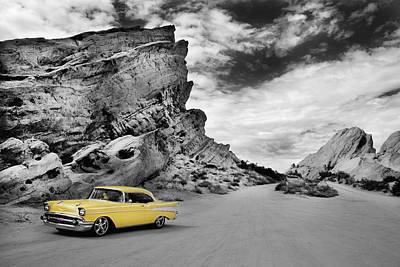 Robert Jensen Photograph - 1957 Chevy by Robert Jensen