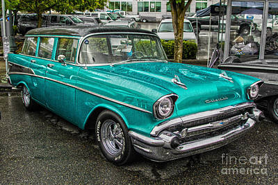 Photograph - 1957 Chevy by Sonya Lang