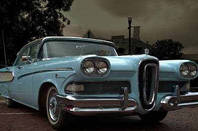 Photograph - 1957 Ford Edsel Pacer by Tim McCullough