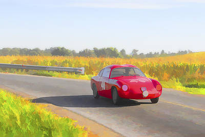 Photograph - 1957 Fiat Abarth 750gt Zagato Coupeo by Jack R Perry