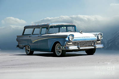 The Beatles - 1957 Ford Country Squire by Dave Koontz