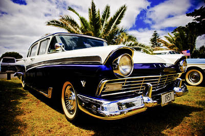 1957 Ford Custom Art Print by motography aka Phil Clark