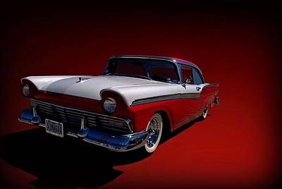 Photograph - 1957 Ford Fairlane by Tim McCullough