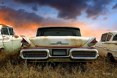 Photograph - 1957 Mercury by Andrea Kelley