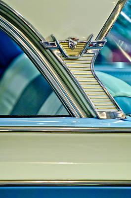 Photograph - 1957 Mercury Monterey Sedan Emblem by Jill Reger