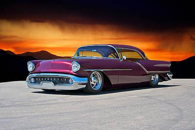 Spot Of Tea - 1957 Oldsmobile Custom by Dave Koontz