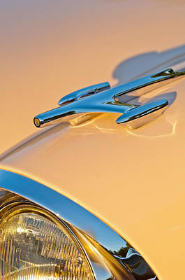 Photograph - 1957 Oldsmobile Hood Ornament 6 by Jill Reger