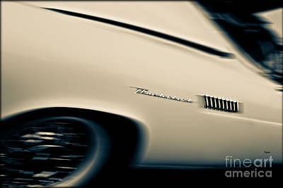 Thunderbirds Photograph - 1957 Thunderbird  by Steven Digman