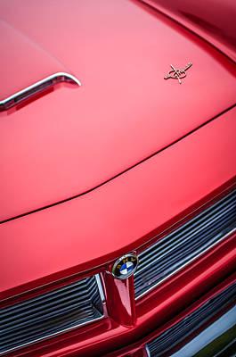Photograph - 1958 Bmw 3200 Michelotti Vignale Roadster Hood Emblem-1012c by Jill Reger