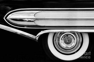 Fifties Automobile Photograph - 1958 Buick Special Monochrome by Tim Gainey