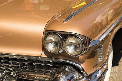 1958 Cadillac Eldorado Biarritz Dsc1419 Art Print by Wingsdomain Art and Photography