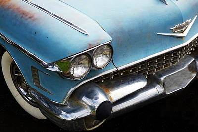 Smooth Ride Photograph - 1958 Cadillac Sedan Deville by Pamela Patch