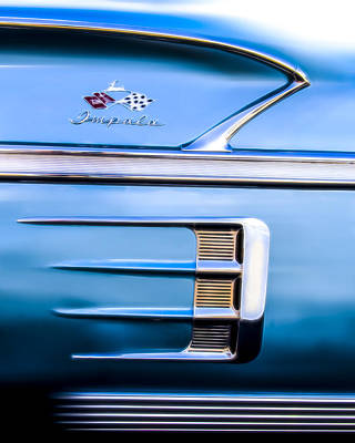 Photograph - 1958 Chevrolet Impala by Wes Jimerson