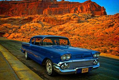 Photograph - 1958 Chevrolet by Tim McCullough