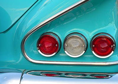 Photograph - 1958 Chevy Impala by John Orsbun