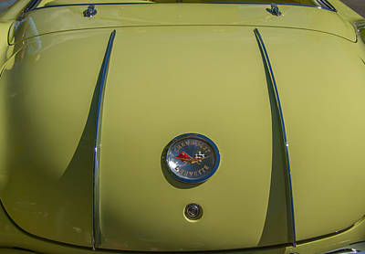 Photograph - 1958 Corvette Rear Deck And Emblem by Roger Mullenhour