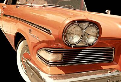 Photograph - 1958 Edsel Pacer Convertible by Diana Angstadt