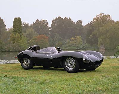 1958 Jaguar D-type 3.8 Litre Sports Art Print by Panoramic Images