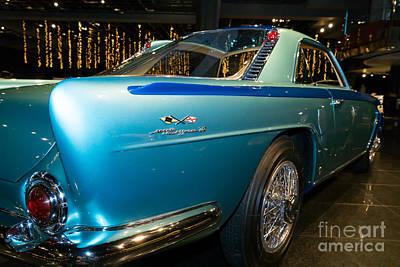 Photograph - 1958 Lancia Nardi Blue Ray II Dsc2675 by Wingsdomain Art and Photography