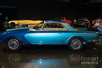 Photograph - 1958 Lancia Nardi Blue Ray II Dsc2681 by Wingsdomain Art and Photography