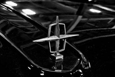 1958 Lincoln Continental Hood Ornament Original
