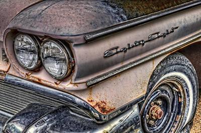 1958 Oldsmobile 88 Art Print by Ken Smith