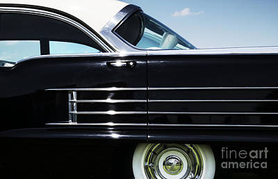 Side Panel Photograph - 1958 Oldsmobile Dynamic 88 by Tim Gainey