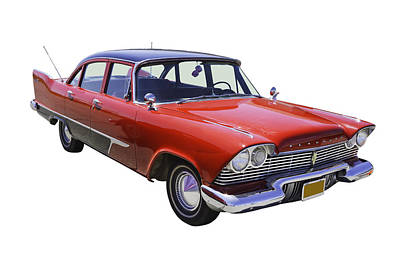 Photograph - 1958 Plymouth Savoy Classic Car by Keith Webber Jr