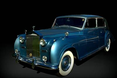 Photograph - 1958 Rolls Royce Silver Cloud by Tim McCullough