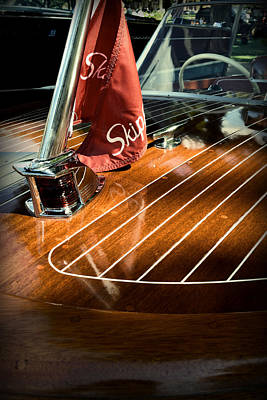 Photograph - 1958 Skipper Craft Hull by Michelle Calkins