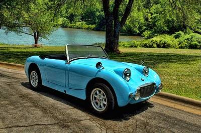 Photograph - 1959 Austin Healey Bug Eye Sprite by Tim McCullough