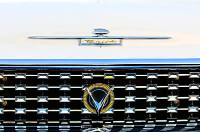 Historic Vehicle Photograph - 1959 Buick Lesabre Hood Ornament by Jill Reger