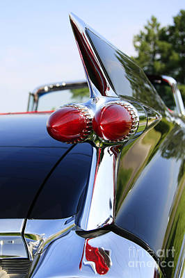 Antique Automobiles Photograph - 1959 Cadillac by Dennis Hedberg