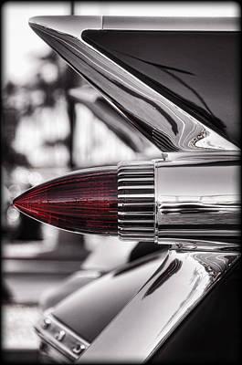 Photograph - 1959 Cadillac Eldorado Tailight by Saija  Lehtonen