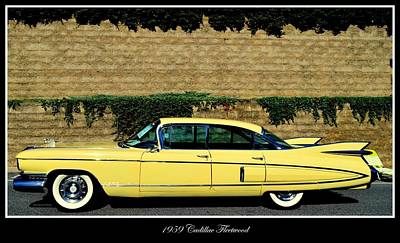 Photograph - 1959 Cadillac Fleetwood by Don Struke