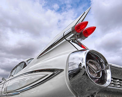 Photograph - 1959 Cadillac Fleetwood Tail Fin by Gill Billington