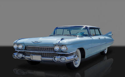 Photograph - 1959 Cadillac Sedan Deville Flat Top - Series 62 by Frank J Benz