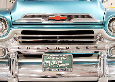 Photograph - 1959 Chevrolet Apache 012315 by Rospotte Photography