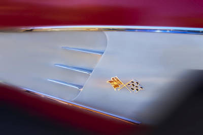 Photograph - 1959 Chevrolet Corvette by Wes Jimerson