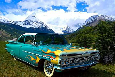 Photograph - 1959 Chevrolet Custom Cruiser by Tim McCullough