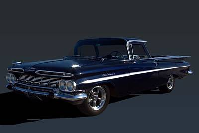 Photograph - 1959 Chevrolet El Camino by Tim McCullough