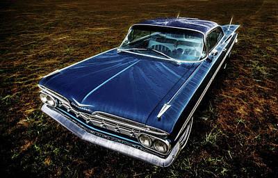 1959 Chevrolet Impala Art Print by motography aka Phil Clark