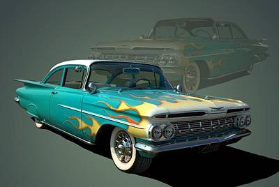 Photograph - 1959 Chevrolet by TeeMack